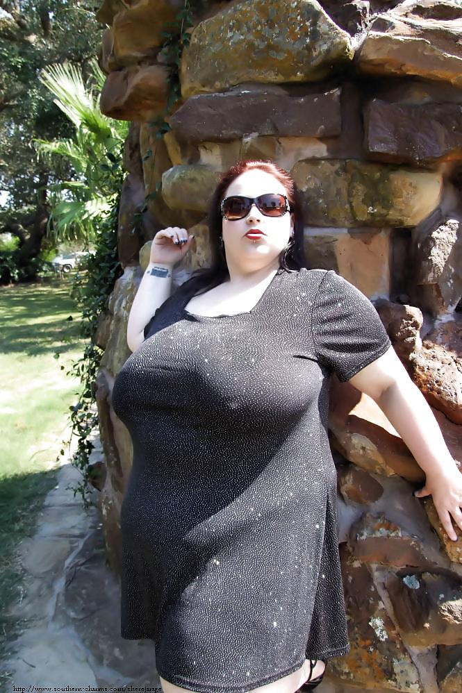 femme ronde et chaude